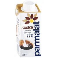 Сливки Пармалат питьевые 11% 200мл