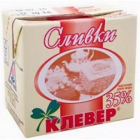 Сливки Пискаревский клевер 35% 0,5л
