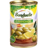 Оливки Бондюэль Мансанилья с лимоном 300г