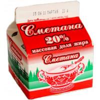 Сметана Славмо классическая 20% 250г