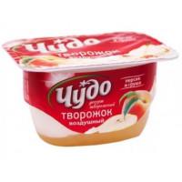 Десерт Чудо творожный персик-груша 4,2% 100г