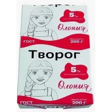 Творог Олонецкий мк жир.5% 200г