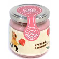 Мед Добрый мёд кремовый с малиной 220г