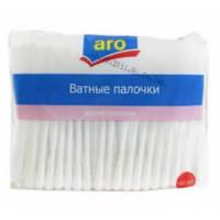 Палочки ватные Аро 160шт в пакете