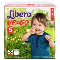 Трусики Либеро Детские одноразовые ап энд гоу макси плюс 10-14 кг 68шт