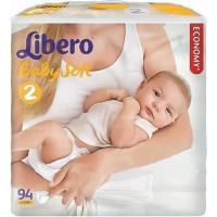 Подгузники Либеро бэби софт Эконом 3-6кг 94шт