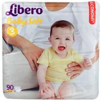 Подгузники Либеро бэби софт миди 4-9кг 90шт