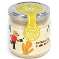 Мед Добрый мёд кремовый с имбирем 220г