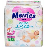 Подгузники Мерриес для детей S 4-8кг 82шт