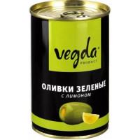 Оливки Вегда с лимоном ж/бн 300г