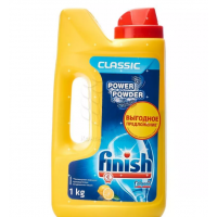 Порошок Финиш для посудомоечных машин лимон 1кг