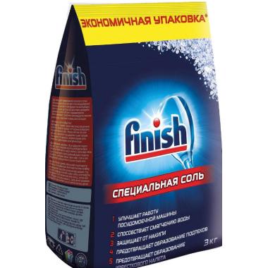 Соль Финиш для посудомоечных машин 3кг