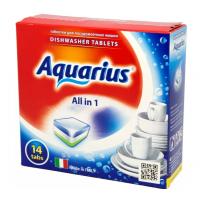 Средство Аквариус моющее для посудомоечных машин 14шт