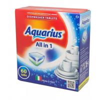 Средство Аквариус моющее для посудомоечных машин 60шт