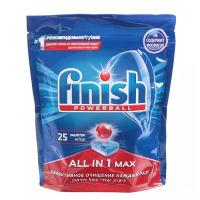 Средство Финиш для мытья посуды в посудомоечных машинах в таблетках 25шт