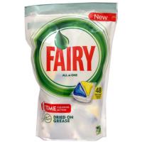 Средство Фэйри для посудомоечной машины лимон в капсулах 48шт
