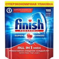 Таблетки Финиш Поверболл для посудомоечных машин 100шт