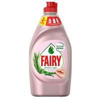 Средство Фэйри для посуды нежные руки розовый жасмин и алоэ вера 450мл