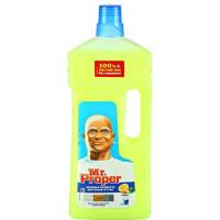 Жидкость Мистер пропер для полов и стен лимон 1,5л