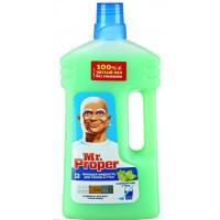 Жидкость моющая Мистер пропер для полов и стен лайм и мята 1л