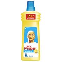 Жидкость моющая Мистер пропер для полов и стен лимон 750мл