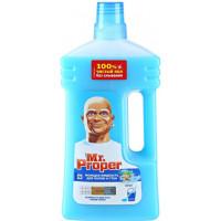 Жидкость моющая Мистер пропер для полов и стен Океан1л