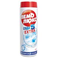 Порошок Пемолюкс сода экстра ослепительно белый 480г пластик