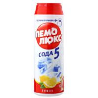 Порошок Пемолюкс сода эффект лимон 480г пластик