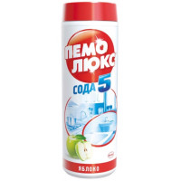 Порошок Пемолюкс сода эффект яблоко 480г пластик