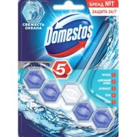 Блок Доместос Пауэр 5 для очищения унитаза свежесть океана 55г