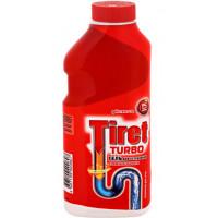 Гель Тирет для чистки труб турбо 500мл