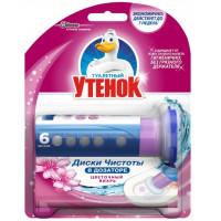 Очиститель Утенок Цветочный вихрь д/унитаза 38,6г