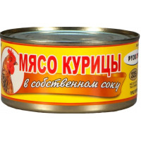 Мясо курицы Рузком в с/с 325г