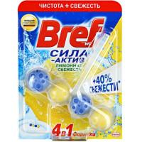 Средство Бреф сила-актив для унитаза лимонная свежесть 50г