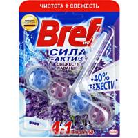 Средство Бреф сила-актив для унитаза свежесть лаванды 50г