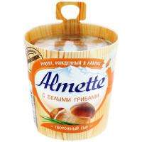 Сыр Альметте с белыми грибами творожный 65% 150г