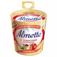 Сыр Альметте с томатами по-итальянски творожный 57% 150г