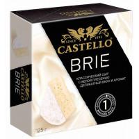 Сыр Кастелло Бри с белой плесенью 50% 125г