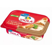 Сыр Виола плавленый с белыми грибами 50% 200г