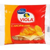 Сыр Виола плавленый с лисичками слайсы 140г