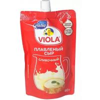 Сыр Виола плавленый сливочный 45% 180г дой-пак