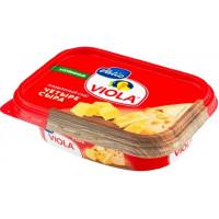 Сыр Виола плавленый четыре сыра 60% 200г