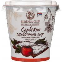 Сыр Буренка Клуб Сербский сливочный томат базилик 55% 150г пл ст
