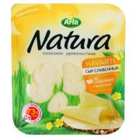 Сыр Арла натура сливочный 45% 300г нарезка