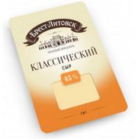 Сыр Брест-литовск классический 45% нарезка 150г