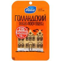 Сыр Валио Голландский 45% нарезка 270г