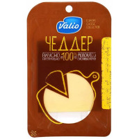 Сыр Валио Чеддер 48% 120г нарезка