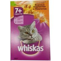 Корм для кошек Вискас ассорти с мясом птицы старше 7 лет 350г