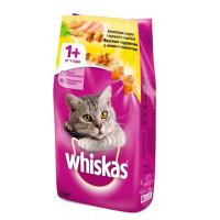 Корм для кошек Вискас вкусные подушечки с паштетом курица/индейка 1,9 кг