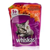 Корм для кошек Вискас подушечки говядина/ кролик 800г